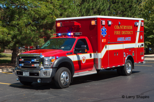 Countryside FPD new Ambulance 412 Horton