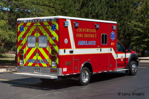 Countryside FPD Ambulance 412 Horton Type I