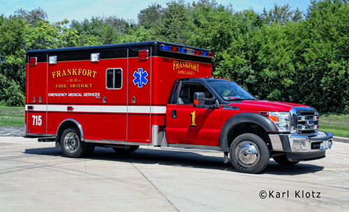 Frankfort Fire Protection District Ambulance 1