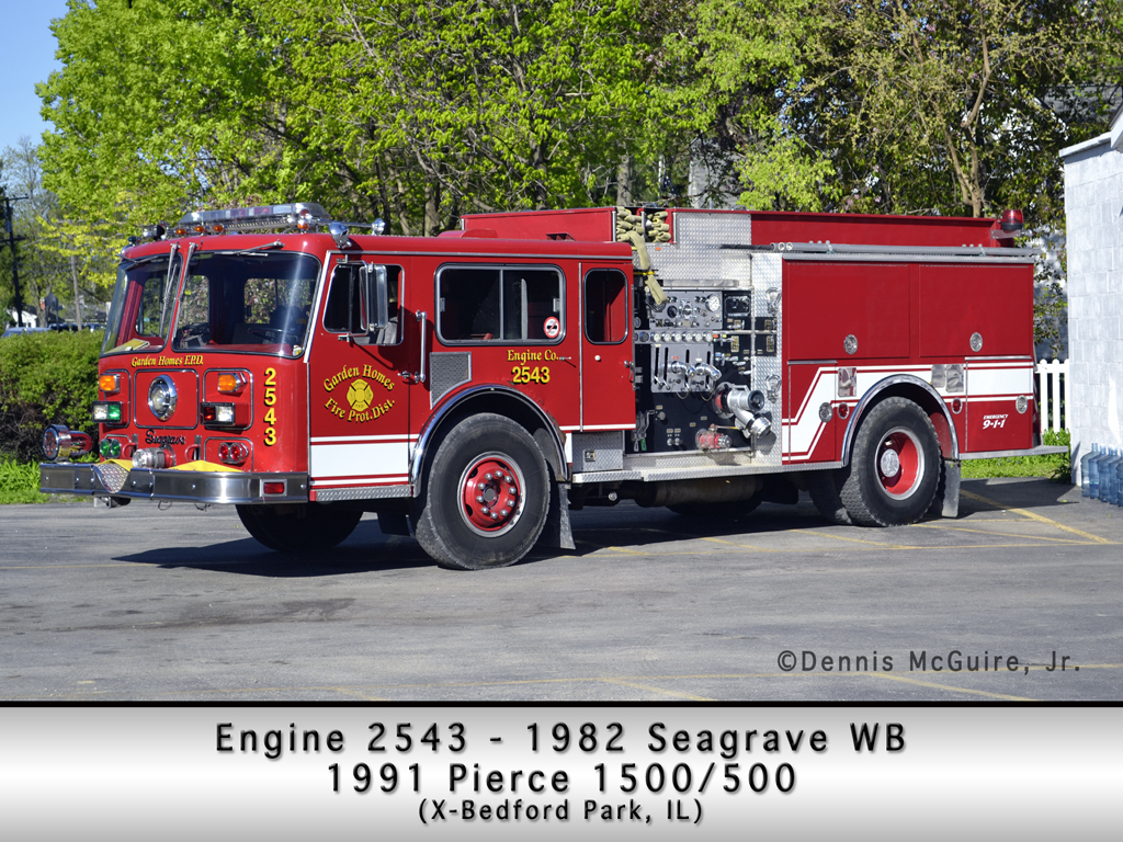 Garden Homes Fire Department Engine 2543