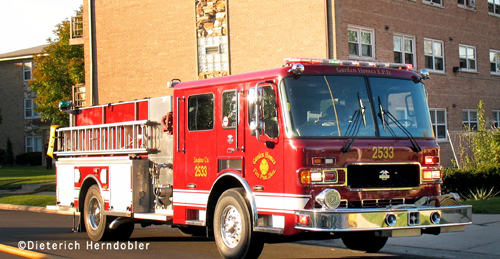 Garden Homes Fire Department Engine 2533