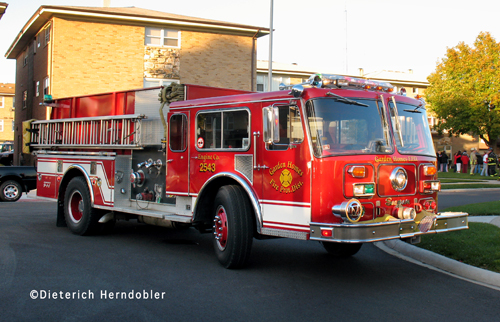 Garden Homes Fire Department Engine 2543 formerly from Bedford Park