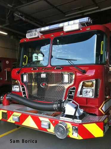 Countryside Fire Protection Rosenbauer engine