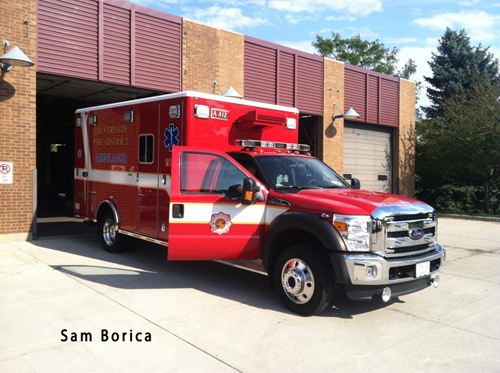 Countryside Fire Protection District gets new ambulance
