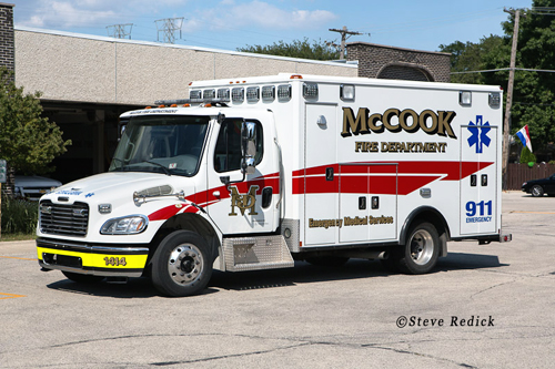 McCook Fire Department fire apparatus
