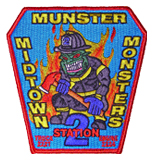 Munster Fire Department patch