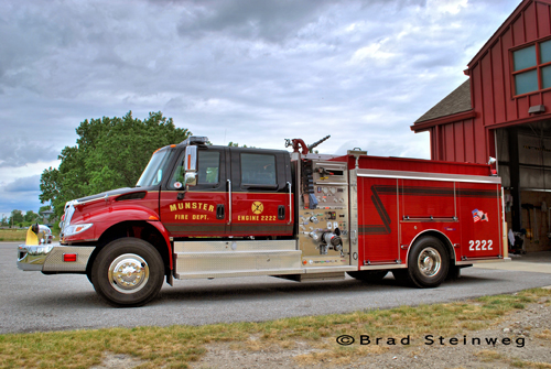 Munster Fire Department Engine 2222