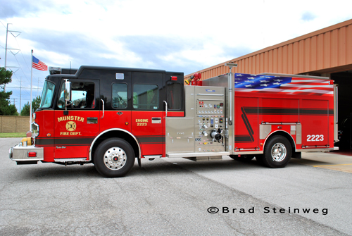 Munster Fire Department Spartan Custom Fire Engine