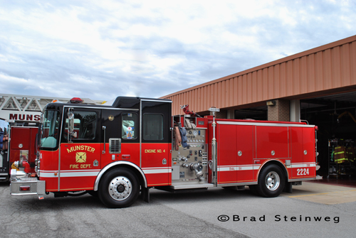 Munster Fire Department Engine 2224 HME Ahrens Fox