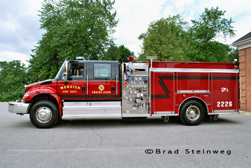 Munster Fire Department Engine 2226