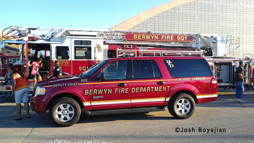 Berwyn Fire Department National Night Out