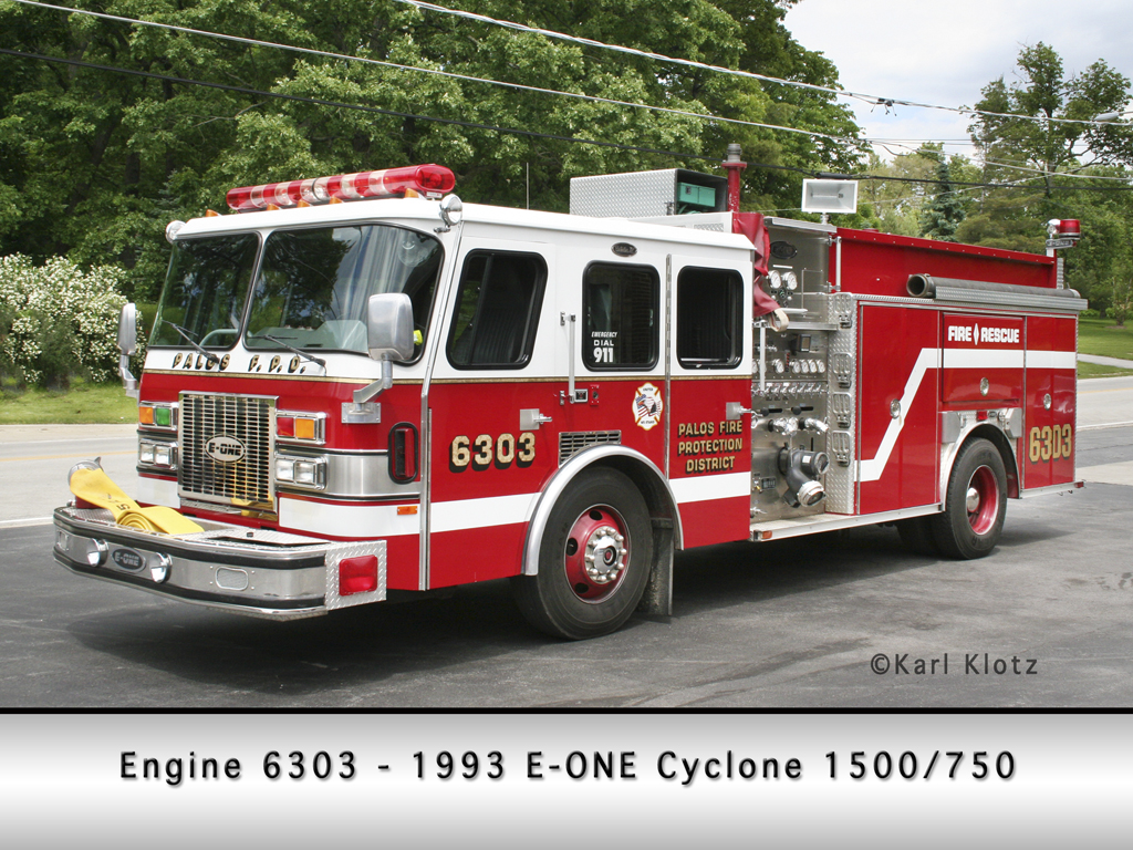 Palos Fire Protection District Engine 6303