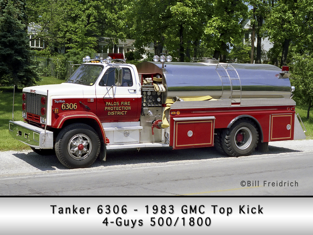 Palos Fire Protection District Tanker 6306