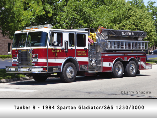 Prospect Heights Fire Department Tanker 9 S&S