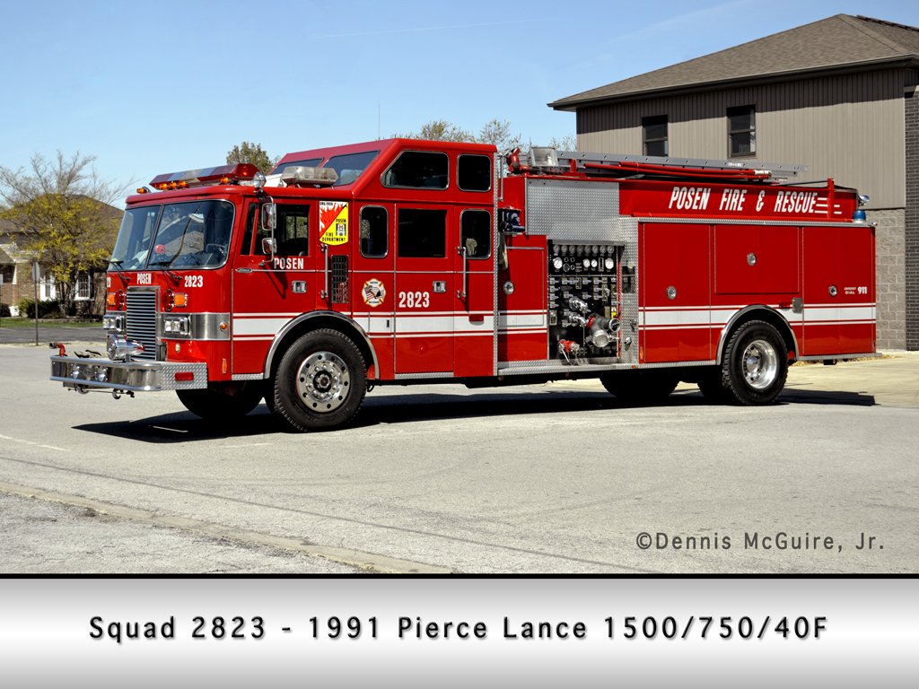 Posen Fire Department Squad 2823