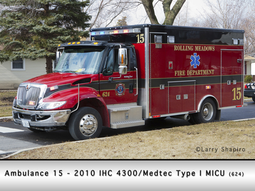 Rolling Meadows Fire Department Ambulance 15