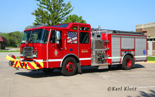 Riverdale Fire Department Engine 83