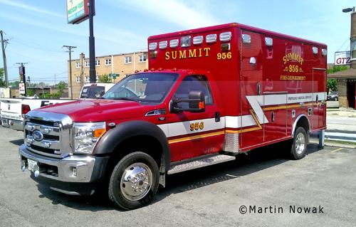 Summit Fire Department Ambulance 956 2011 Wheeled Coach