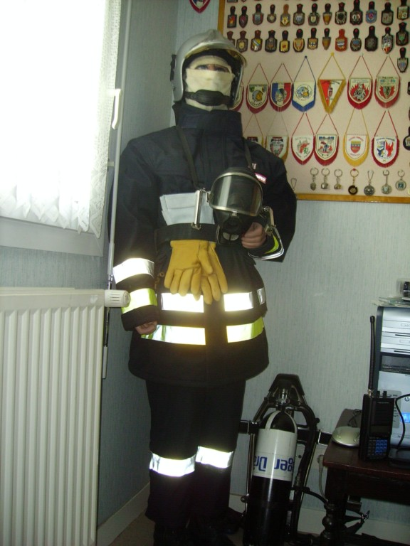 French fire memorabilia collector