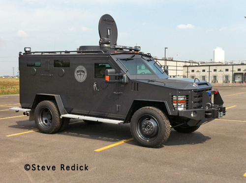 Chicagoland Emergency Vehicle Show NIPAS armored vehicle