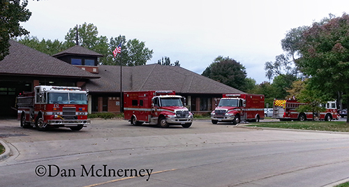 Northbrook Fire Department apparatus