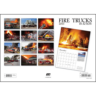 Fire Trucks in Action 2013 calendar