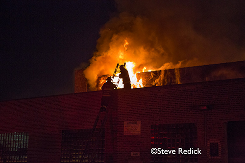 massive 5-11 alarm fire in the 2600 block of Nelson in Chicago 9-30-12
