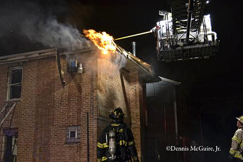 Building fire in Robbins IL on Monticello 9-19-12