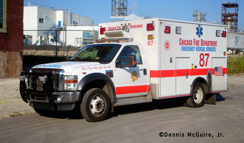 Chicago Fire Department Ambulance 87
