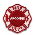 Argonne Labs Fire Department patch