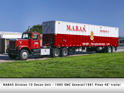 MABAS Division 10 Decon Unit