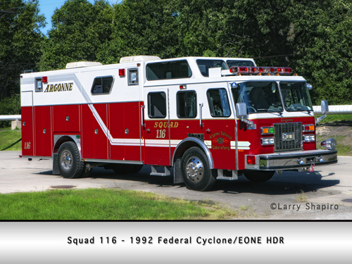 Argonne Labs Fire Department Rescue Squad