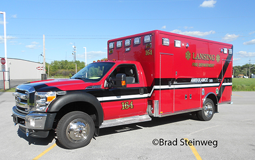 Lansing FIre Department Ambulance 164 Horton Type I