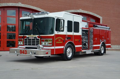 Carpentersville Fire Protection District Ferrara engine