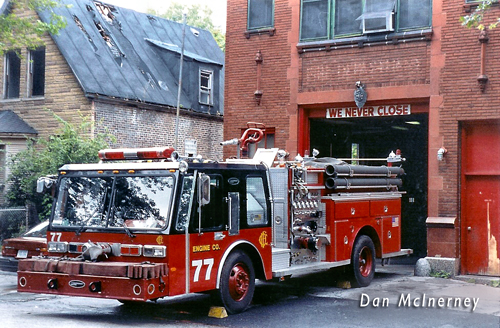 Chicago Fire Department Engine 77 1984 E-ONE Hurricane