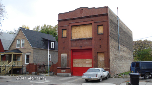 Chicago Fire Department abandoned firehouse