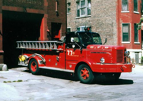 Chicago Engien 77 1953 FWD