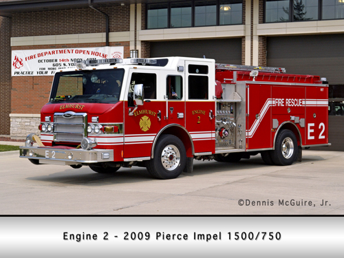 Elmhurst Fire Department Engine 1