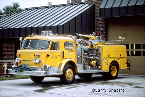 Elmhurst Fire Department American LaFrance 1000 Series