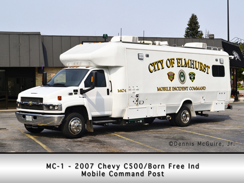 Elmhurst Fire Department Mobile Command and Communications Center