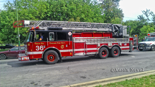 Chicago Fire Department Truck 36 Pierce Dash PAL