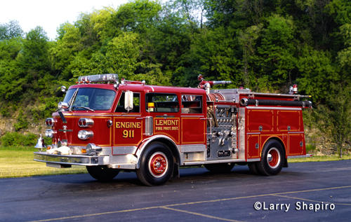 Lemont Fire Protection District American LaFrance Century Engine