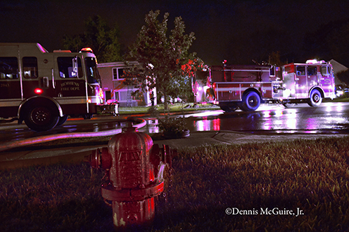 Building fire in Robbins IL on Monticello 9-19-12