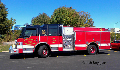 Schaumburg Fire Department Engine 52