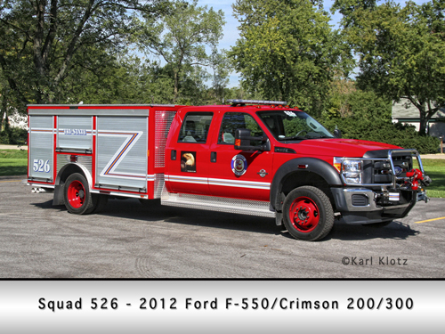 Tri-State Fire Protection District Squad 526 Crimson