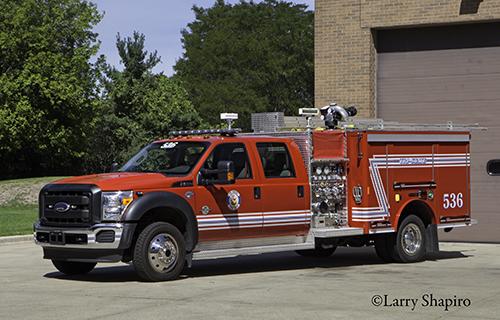 Tri-State Fire Protection District Squad 536 Crimson