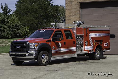 Tri-State FPD Squad 536 Ford Crimson