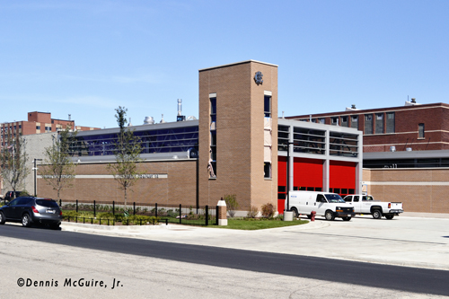 Chicago Engine 16's new fire house