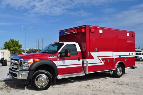 Gurnee Fire Department ambulanve