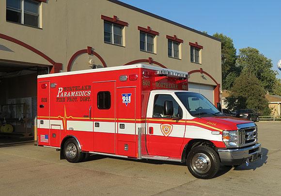 Northlake FPD ambulance